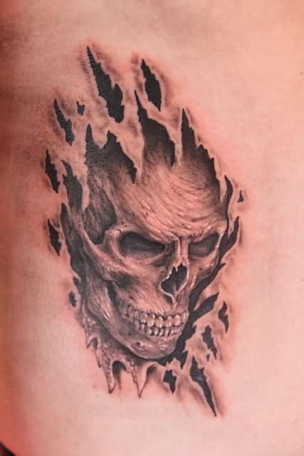 batman tattoo ripping through skin black and grey ripped skin batman costume tattoo on man