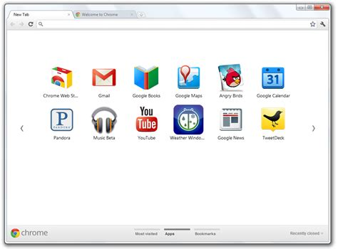 chrome new tab download google chrome 15 beta new tab page redesigned