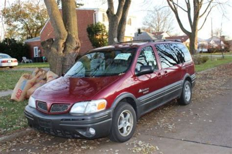 how to sell used cars 2003 pontiac montana user handbook sell used 2003 pontiac montana in dearborn heights michigan united states