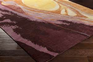 Eggplant Area Rug Surya Brought To Light Bol 4002 Gold Burgundy Eggplant Rust Area Rug
