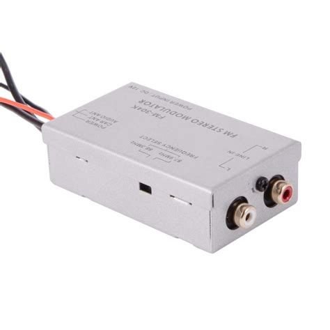 car radio stereo rca mp3 aux input audio adapter fm