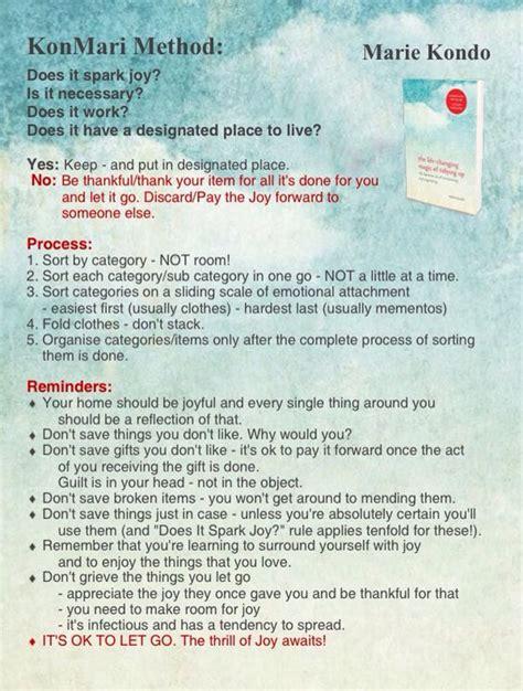 marie kondo tips konmari method infographic marie kondo quot the life