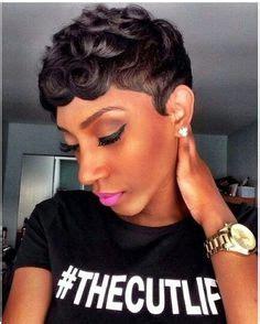 super cute httpwwwblackhairinformationcomcommunity short pixie w pin curls styling options quick weave