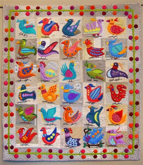 Felt Quilts by Fanciful Wool Applique By Sue Spargo Wool Applique