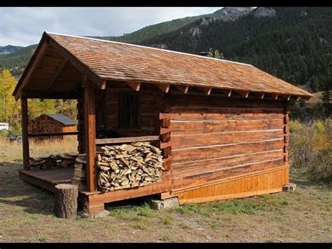 cabin building log cabin build hd