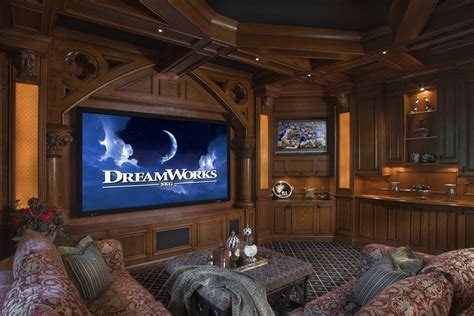 home cinema saba design 08 home theater design in modern style with three lighting