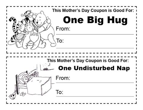 printable free hug coupons printable quote coloring pages top coloring pages