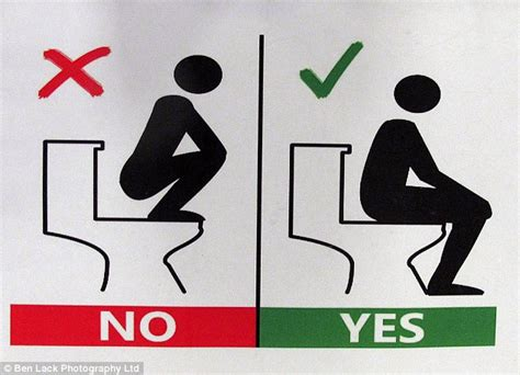 how to use a french toilet university of sheffield puts up bizarre warning signs in