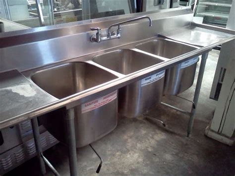 3 compartment sink dishwasher restaurant supply home current inventory