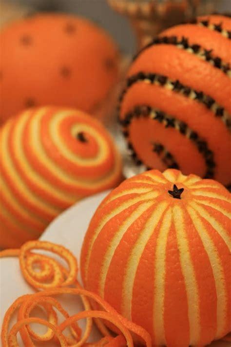 len ideen weihnachtsschmuck basteln kreative bastelideen mit orangen