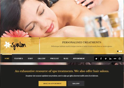 wordpress themes free massage 15 best massage therapist wordpress templates themes