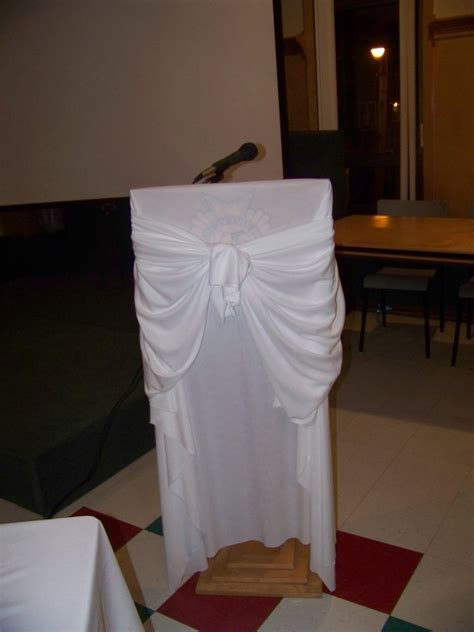 cover  ugly podiums  fabric  tulle   color