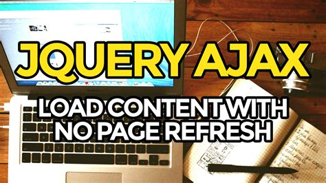 jquery refresh div jquery tutorial ajax load content with no page refresh