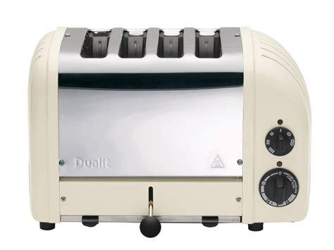 Dualit Bun Toaster Canvas White 4 Slice Toaster The Original 4 Slot Newgen