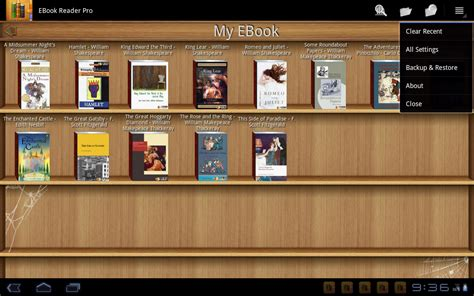ebook reader pro android apps on play