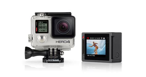 Gopro 4 Edition gopro refurbished hero4 silver edition certified refurbished cameras are tested by gopro and