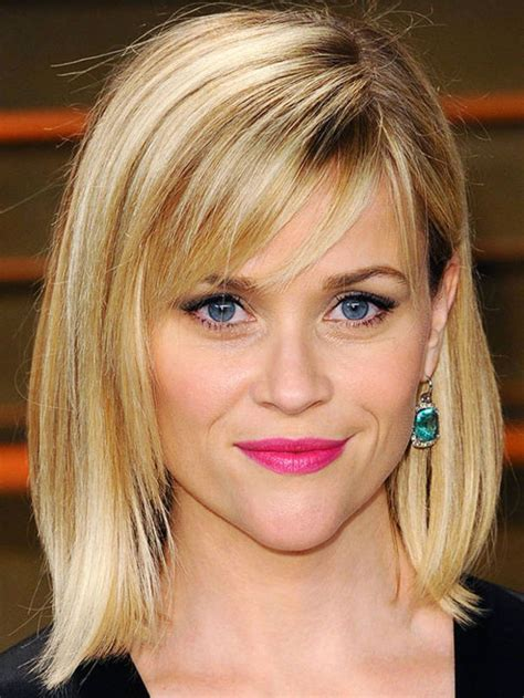 triangle face shape hairstyles with fine hair the best and worst bangs for inverted triangle faces