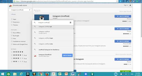 chrome web store instagram 5 ways to upload a photo to instagram with your computer