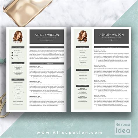 Word Resume Template Mac by Attractive Microsoft Word For Mac Resume Templates Gallery