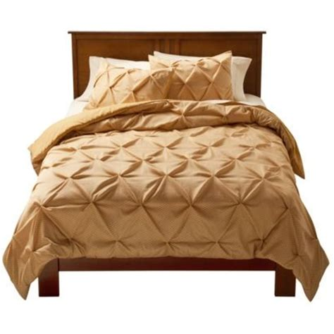 threshold bedding pinched pleat comforter set threshold the o jays