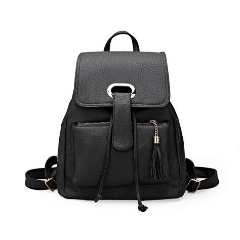fashion korean bag tas wanita import ransel hitam new