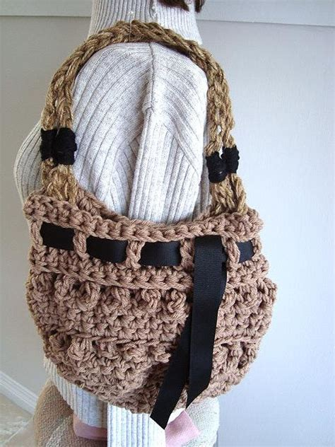 Handmade Bags And Purses Patterns - bag pattern purse pattern crochet pattern bags and purses