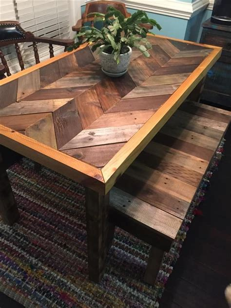 make all from wood 25 best ideas about pallet tables on pinterest wood