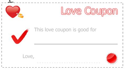 free printable love coupons blank free blank printable coupon templates search results