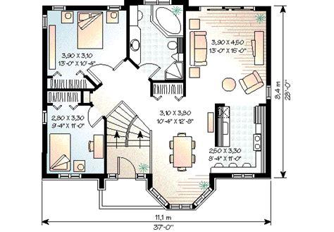 one story house blueprints