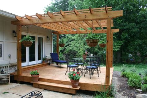pergola with deck building a pergola help me plan it landscaping lawn