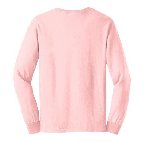 light pink long sleeve top long sleeve pink t shirt custom shirt