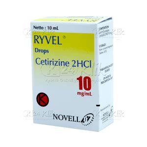 Obat Cetirizine Hcl 10 jual beli ryvel drop 10ml 10mg ml k24klik