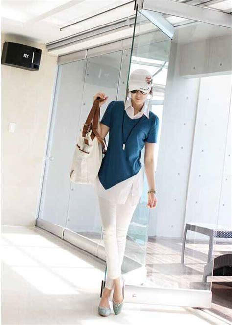 Baju Atasan Warna Biru baju atasan warna biru cantik 2016 myrosefashion