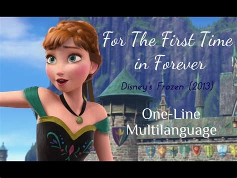 for the time in forever quot frozen quot inspired crafts craft paper scissors frozen for the time in forever one line multilanguage
