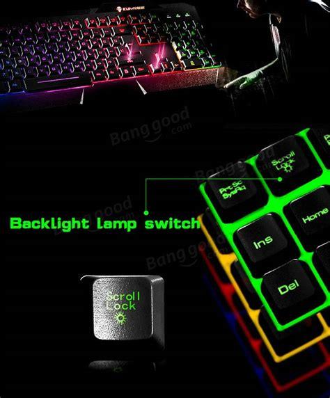 Keyboard Rexus K1 Led Keyboard kuiyn k1 led backlit usb wired gaming keyboard cf lol wow