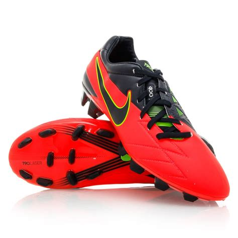 nike t90 football shoes nike t90 laser iv fg mens football boots crimson black