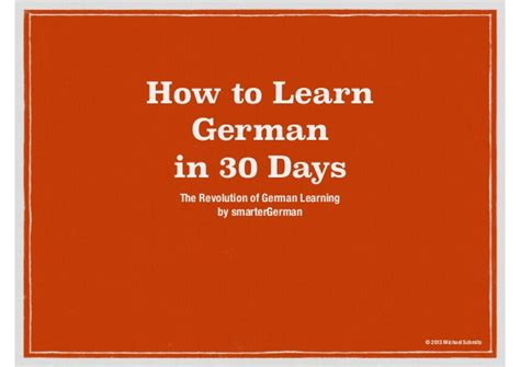 how to a to speak how to speak german in 30 days why was wrong