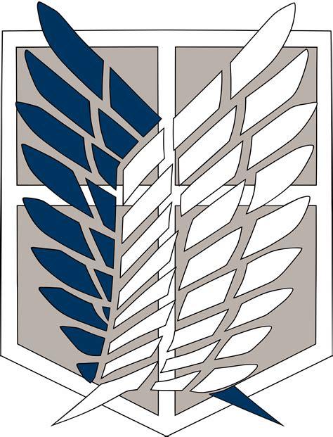 Kaos Scouting Legion Attack On Titan Wings Anime scouting legion wallpaper wallpapersafari