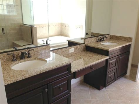 Bathroom Vanities With Granite Countertops Bathroom Countertops Vanity Tops And Side Splashes Other By Optimum Granite Marble Inc