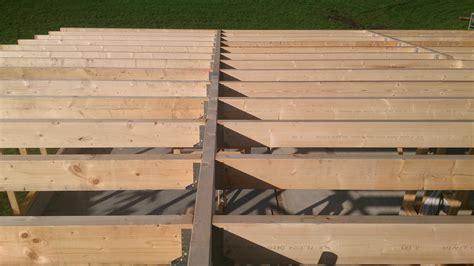 dak voor schuur schuur bouwen hout geraamte 06 dak