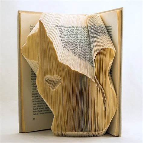 Folded Paper Book - 17 best ideas about folded book on book
