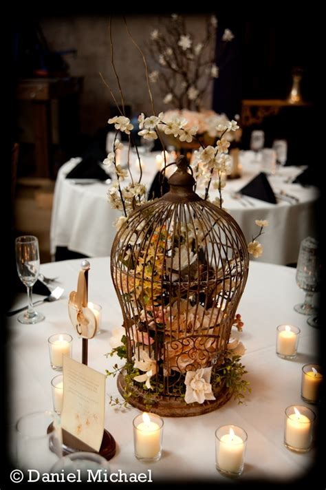 cincinnati wedding birdcage centerpiece wedding ideas