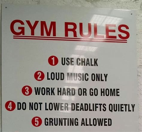 gym rule quotes quotesgram