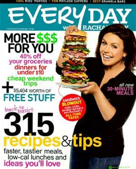 Rachael Ray Magazine Sweepstakes - free 1 year subscription to everyday with rachael ray myfreeproductsles com