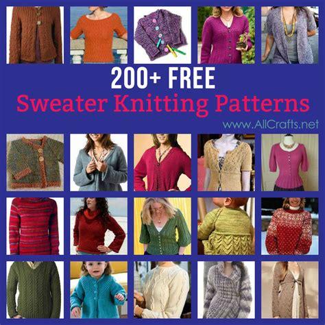 all free knitting patterns all crafts free knitting patterns