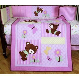 teddy bear crib bedding geenny girl teddy bear 13pcs crib bedding set baby