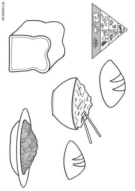 Grain Food Coloring Pages