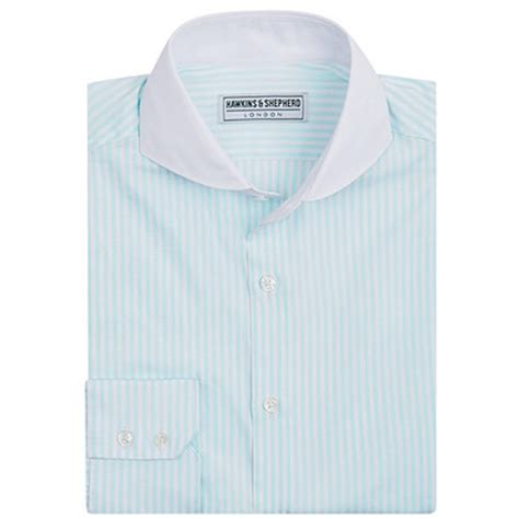 Handmade Mens Shirts - hawkins and shepherd shirts pin collar shirts the shirt
