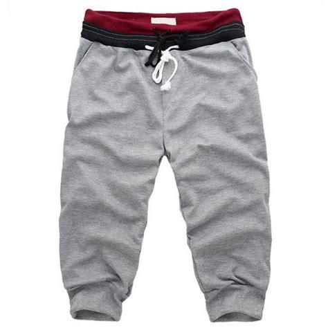 Celana Size S celana pendek kasual pria size s light gray