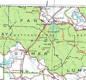 map of bonham georgiainfo